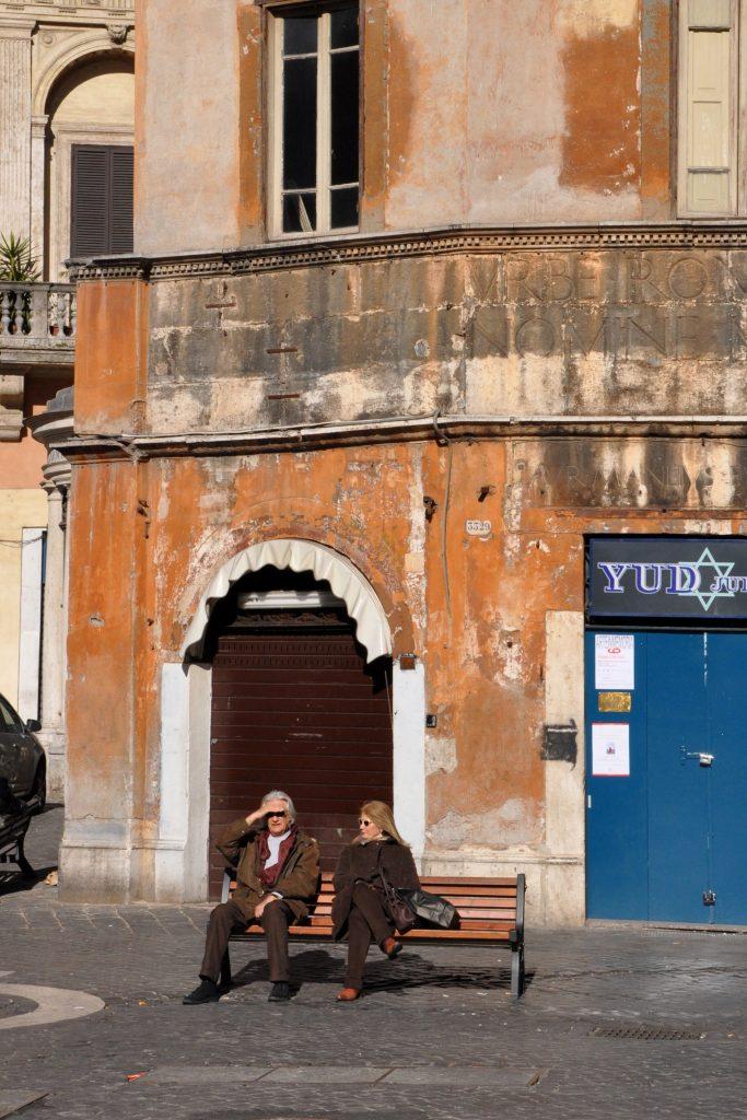 In the Jewish Ghetto of Rome