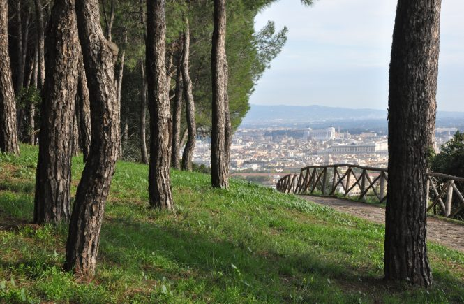 One of Rome's prettiest parks