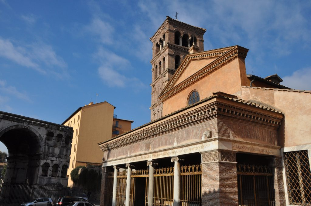 The Church of St George in Velabro, a favorite church in Rome