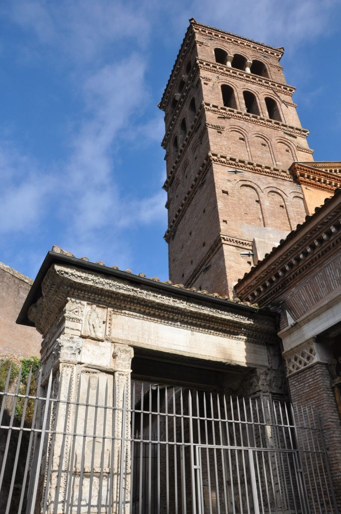 San Giorgio in Velabro, a favorite church in Rome