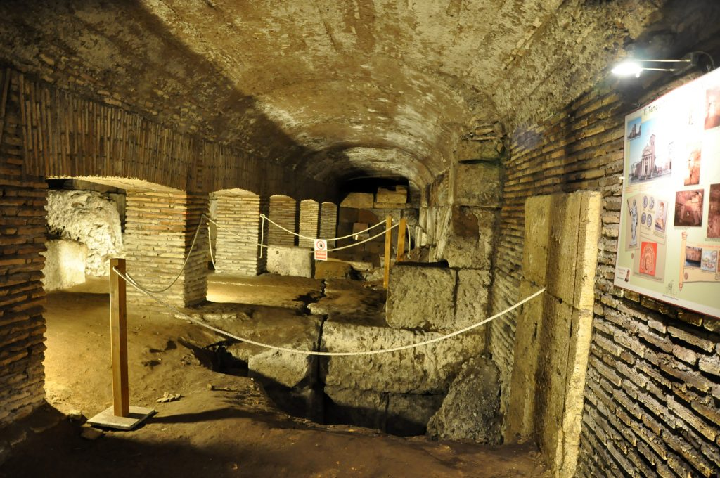 Underground of San Nicola in Carcere