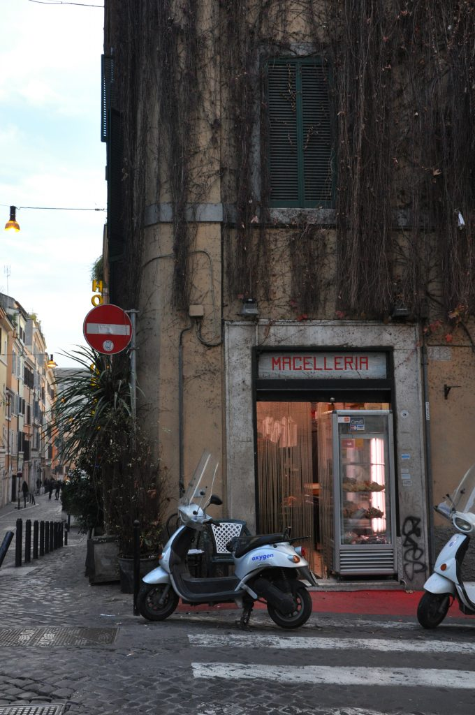 Monti, a neighborhood in Rome