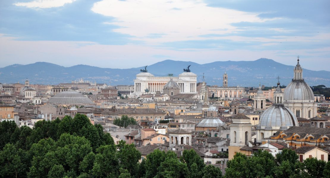 The most romantic places in Rome