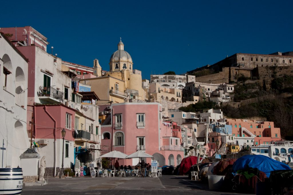 Beautiful Procida, a great island near Rome